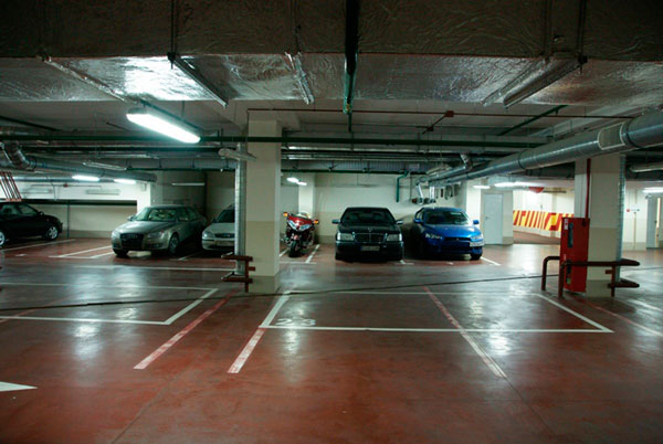 Охраняемый паркинг