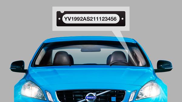 VIN-код указан в документах, на дверной стойке, под лобовым стеклом и на двигателе